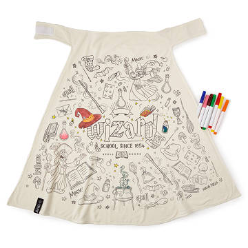 Color Your Own Wizard Cape