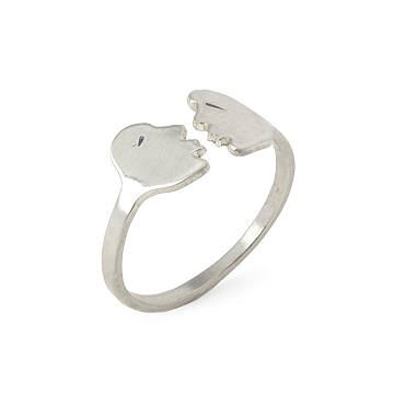 Truly Madly Deeply Kissing Ring