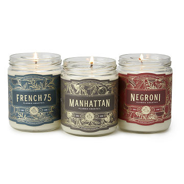 Classic Cocktail Candles