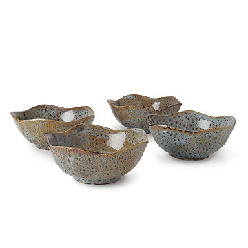 Zen Lotus Bowls - Set of 4