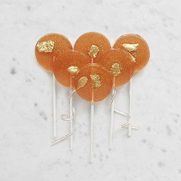 Rose Wine Lollipops
