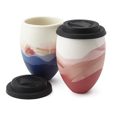 Handmade Sunset To-Go Cup