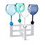 Colorful Outdoor Wine Glasses - Set of 4 3 thumbnail
