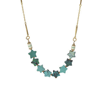 Summer Stars Of Turquoise Necklace