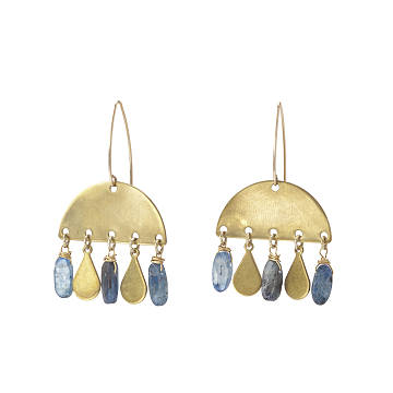 April Showers Gemstone Earrings