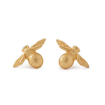 Benevolent Bee Stud Earrings