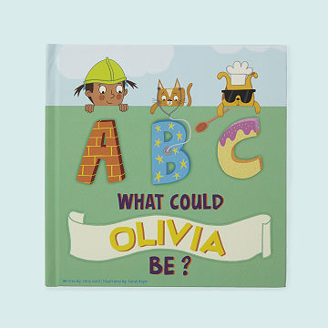 Personalized ABC What Can I Be Book