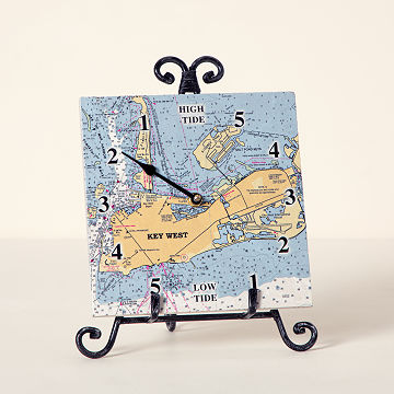 Custom Map Tide Clock