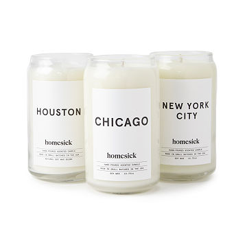 Homesick City Candles