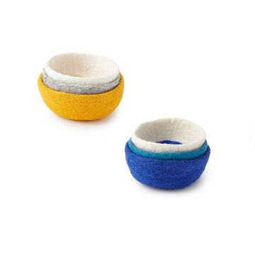 Felt Nesting Bowls - Set of 3