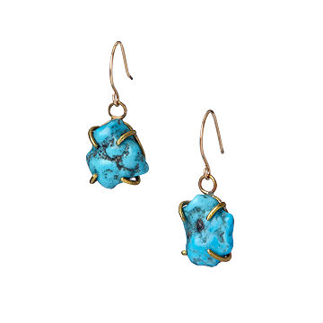 Turquoise Equinox Gemstone Earrings
