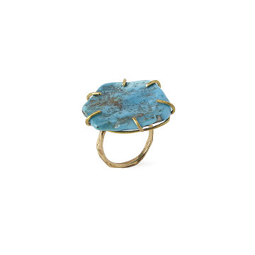 Turquoise Equinox Gemstone Ring