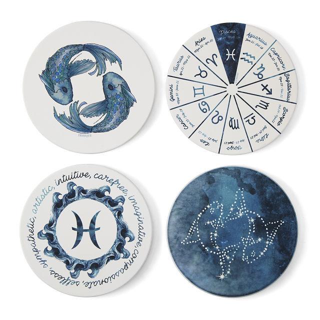Zodiac Profile Coasters
