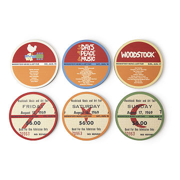 Woodstock Coasters