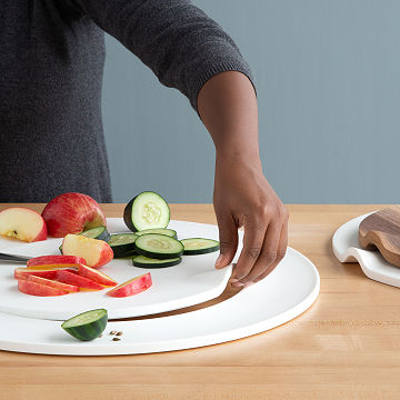 Multi-Functional Cut and Serve Board