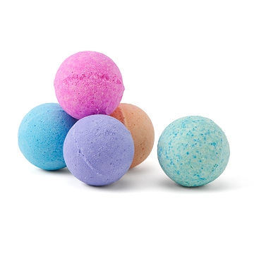 Rainbow Hemp Bath Bombs