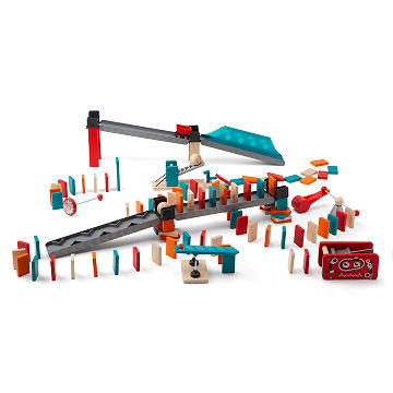 Robot Domino Building Set