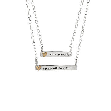 Personalized Carry Love With You Necklace
