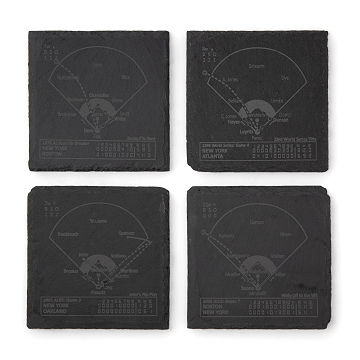 Baseball Greatest Plays Coasters