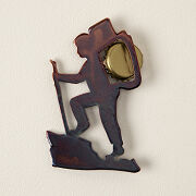 Magnetic Hiker Bottle Opener