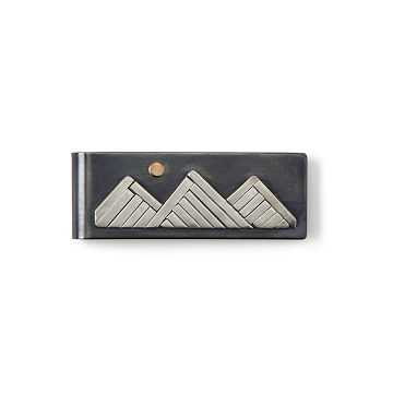 Climb Every Mountain Money Clip