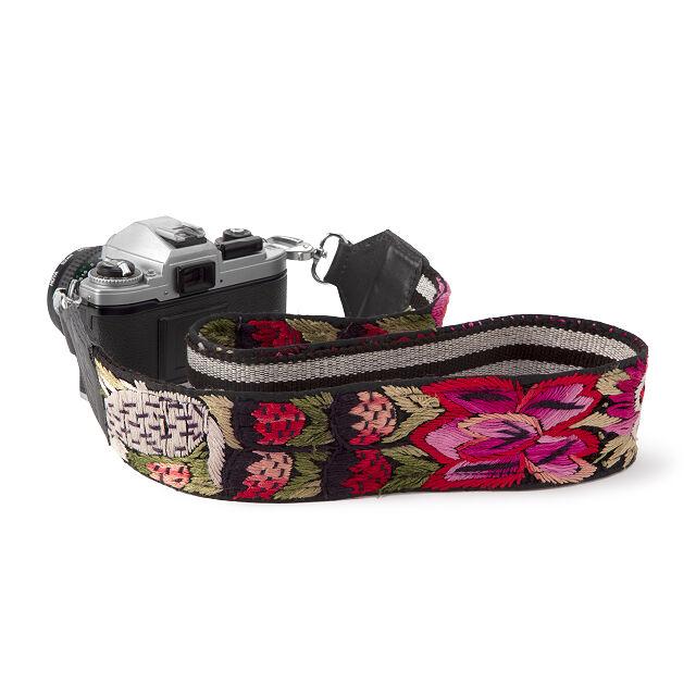 Unique Colorful Camera Accessory Geometric Camera Strap Tribal Camera Strap Photographer Gift DSLR Camera Strap Fabric Camera Strap