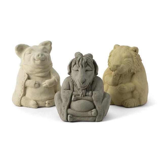 Chinese Zodiac Zen Garden Sculptures, Zen Garden Sculptures