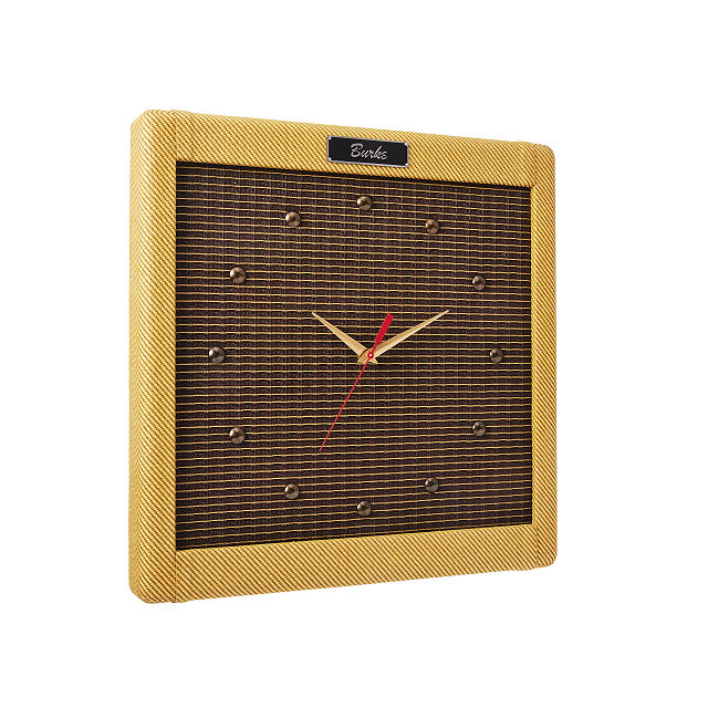 Personalized Vintage Amp Clock