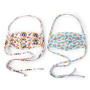 Set Of 2 Rainbow Face Coverings