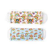 Children s Rainbow Face Coverings - Set Of 2