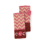 ZigZag & Floral Embroidery Handwarmers