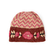 ZigZag & Floral Embroidery Hat