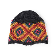 Rhombus Pattern Hat