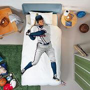 MLB Baseball Player Duvet & Pillowcase Set