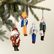 Famous Artists Ornaments