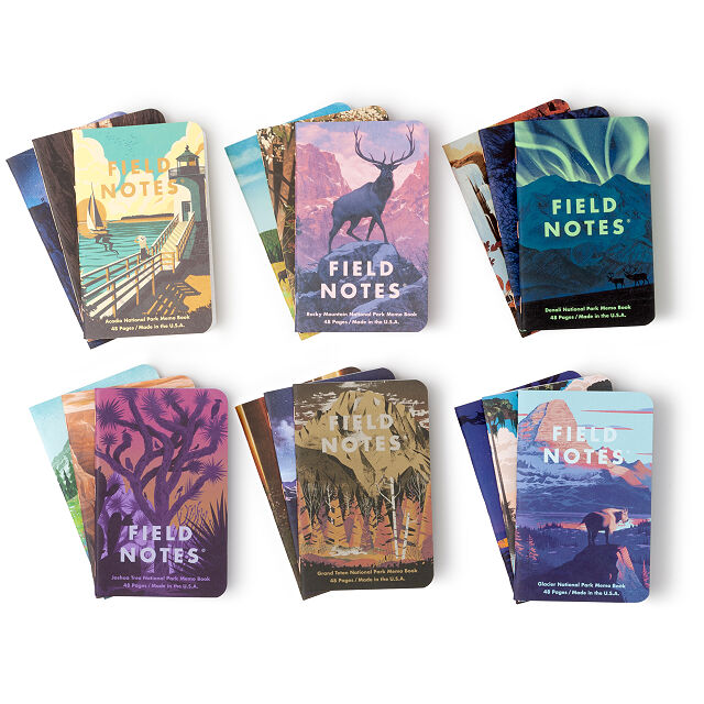 National Parks Notebooks - Set of 3