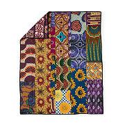 African Patchwork Handmade Quilt