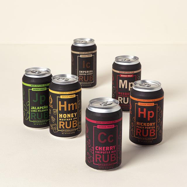 Beer Infused Rubs 6 Pack