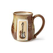 Bluesy Electric Guitar Mug