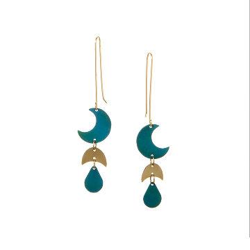 Bonyak Jewelry 18 Inch Hamilton Gold Plated Necklace w// 6mm Light Purple February Birth Month Stone Beads /& Saint Madeline Sophie Barat