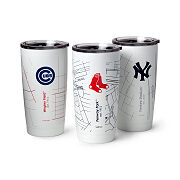Baseball Park Map Insulated Pint