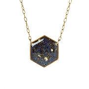 Galaxy Hexagon Necklace