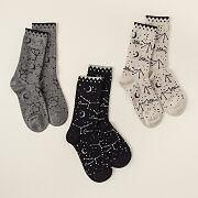 Zodiac Star Sign Socks