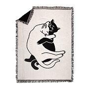 Snuggle Cat Throw Blanket