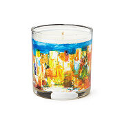 Sensory Painting Candle: Blooming Skyline