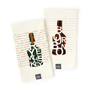 Bourbon & Rye Whiskey Bar Towels