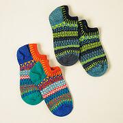 Mismatched Ankle Socks