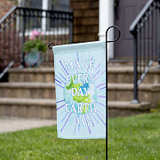 Earth Day Every Day Garden Flag