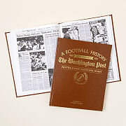 Personalized College Football History Book
