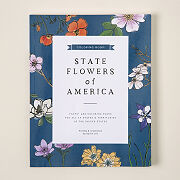 State Flower Coloring Book